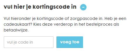 HEMA kortingscodeveld